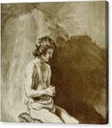 Male Nude Canvas Print