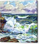 Malibu Cove Canvas Print