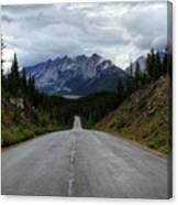Maligne Lake Road Jasper National Park Canvas Print