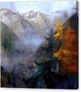 Mallnitz  Austria Canvas Print