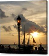 Mallory Square Key West Canvas Print