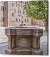 Malmohus Castle Courtyard Canvas Print
