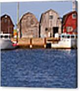 Malpeque Harbour Panorama Canvas Print