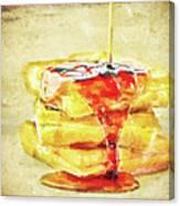 Malt Waffles Canvas Print