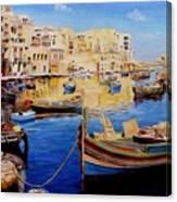 Malta Canvas Print
