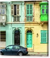 Maltase Style Doors And Windows  Canvas Print