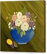 Mama's Kitchen Bowl Canvas Print