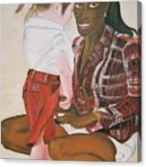 Mami Sandal Canvas Print