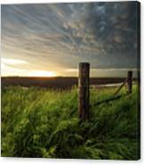 Mammatus Sunset Canvas Print