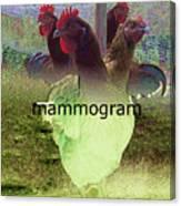 Mammogram Canvas Print