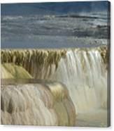 Mammoth Hot Springs - Yellowstone Canvas Print