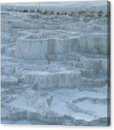 Mammoth Hot Springs Travertine Terraces One Canvas Print