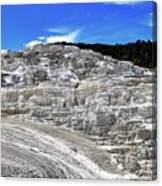 Mammoth Hot Springs2 Canvas Print