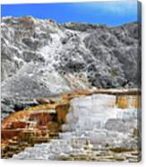Mammoth Hot Springs3 Canvas Print