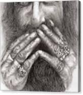 Man Alive Canvas Print