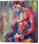 Man Body #2 Canvas Print