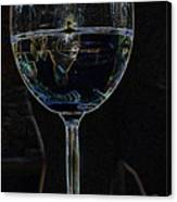 Man In A Glass Canvas Print