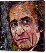 Man In Black Johnny Cash Canvas Print