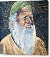 Man In The Green Turban Canvas Print