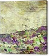 Man In The Lansdscape By Mary Bassett Canvas Print