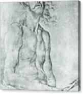 Man Of Sorrow 1522 Canvas Print