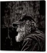 Man With A Beard Canvas Print