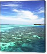 Mana Island Waters Canvas Print