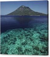 Manado Tua Island Canvas Print