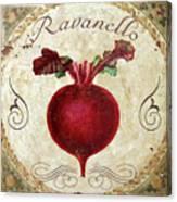 Mangia Radish Canvas Print