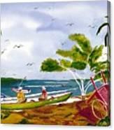 Manana Canvas Print