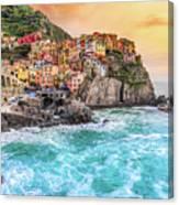 Manarola - Cinque Terre National Park - Liguria - Italy Canvas Print