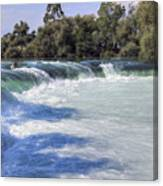 Manavgat Waterfall - Turkey Canvas Print