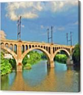 Manayunk Bridge Canvas Print