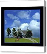 Manchester Barn Canvas Print