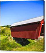 Manchester  Covered Bridge Canvas Print