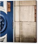 Manchester Doorway Canvas Print