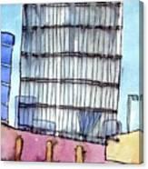 Manchester Embankment 1 Canvas Print