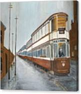 Manchester Piccadilly Tram Canvas Print
