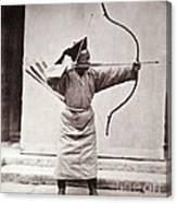 Manchu Archer, 1874 Canvas Print