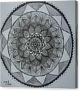 Mandal Canvas Print