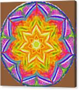Mandala 12 20 2015 Canvas Print