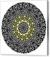 Mandala - Amulet 866 For Those Born In ..... Canvas Print