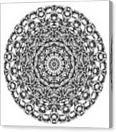 Mandala - Amulet 867 For Those Born In ..... Canvas Print