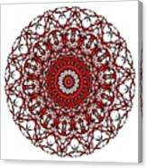 Mandala - Amulet 868 For Those Born In ..... Canvas Print