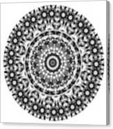 Mandala - Amulet 871 For Those Born In ..... Canvas Print