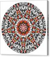 Mandala - Amulet 873 For Those Born In ..... Canvas Print