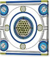 Mandala Anese Canvas Print