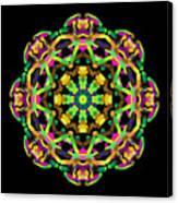Mandala Image #14 Created On 2.26.2018 Canvas Print