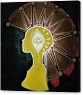 Mandala Mohawk  Canvas Print