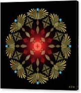 Mandala No. 4 Canvas Print